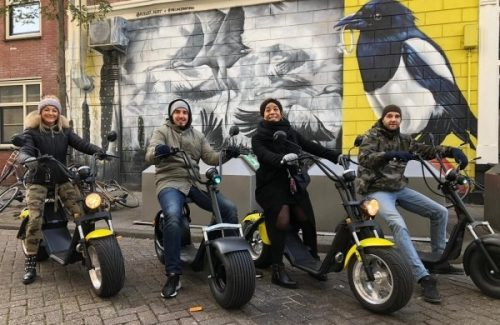 Bedrijfsuitje E-scooter Citygame