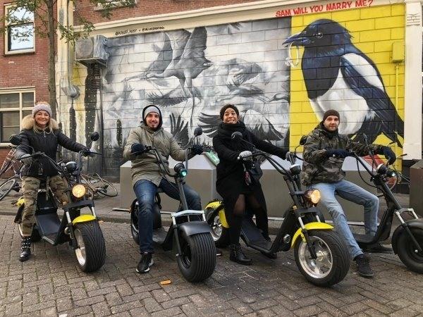 E-scooter Citygame