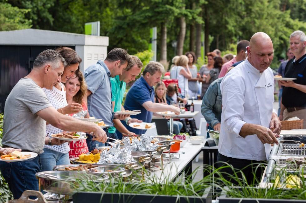 catering tijdens evenement in rotterdam