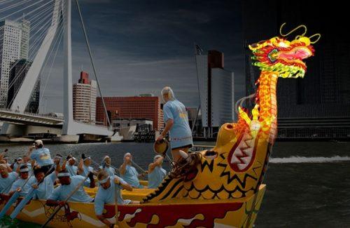 Draken Boot Varen Rotterdam Teamuitje