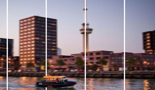 Watertaxi Tijdens Bedrijfsuitje Kris Kras Rotterdam