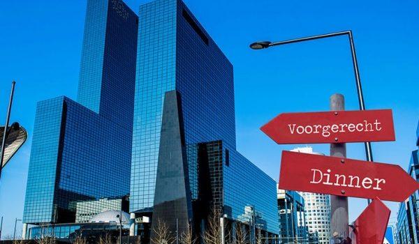 Ruinning Dinner In Rotterdam