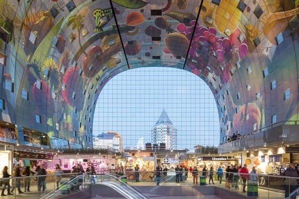 Foto Markthal Tijdens Kookworkshop Rotterdam