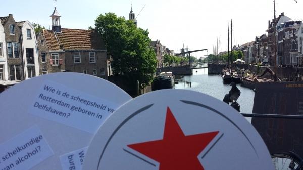 Kroegenpuzzeltocht In Delfshaven Rotterdam