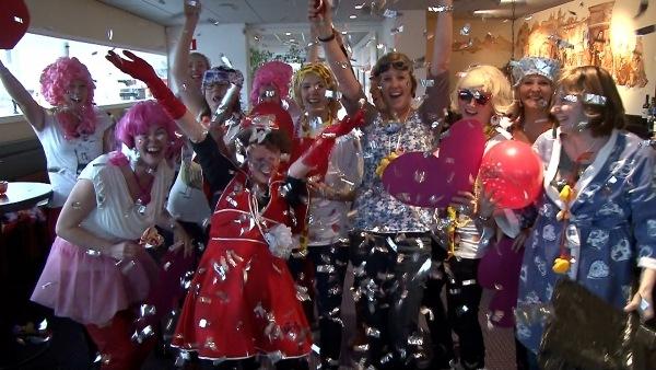 Bedrijfsuitje Lipdub Maken Carnavals Thema Rotterdam