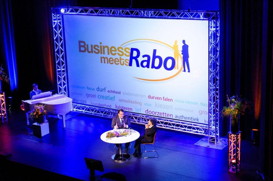 evenement georganiseerd Rabobank Ridderkerk Business Meets Rabo